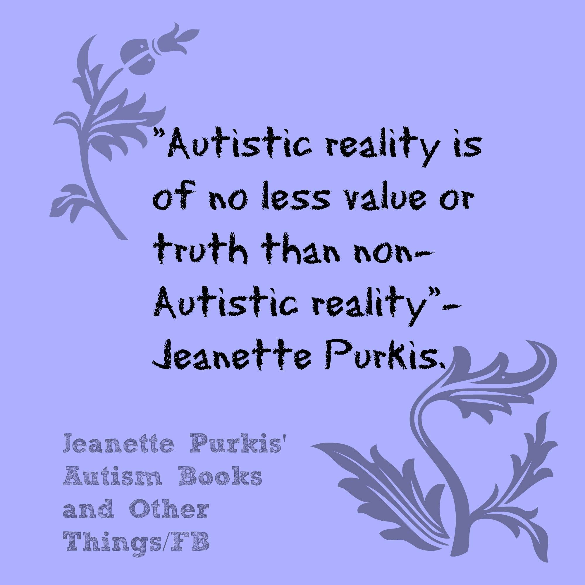 Why I don t have high functioning Autism… – jeanettepurkis